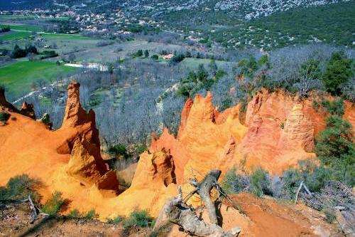 Visite du Colorado Provençal et des mines de Bruoux image