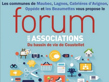 Forum des associations . Sam 15/09 à Oppède image