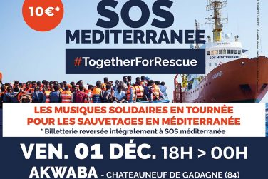 Soirée de soutien à SOS Méditerranée image