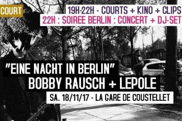 """Soirée """"Court c'est Court"""" - """"Eine nacht in Berlin !"""" image"""