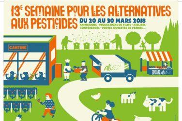 Semaine pour les alternatives aux pesticides - Du 20 > 30 Mars image