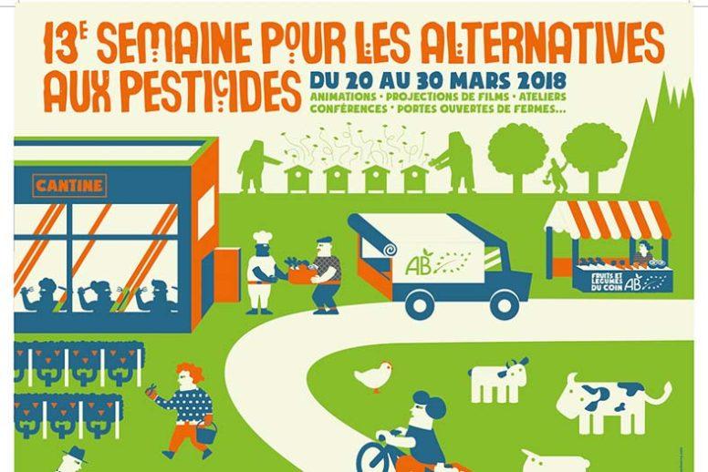 Semaine pour les alternatives aux pesticides – Du 20 > 30 Mars image