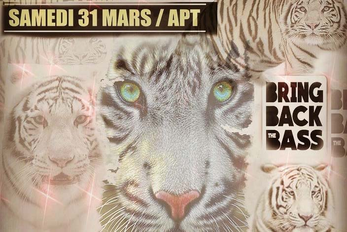 BRING BACK THE BASS - Sam. 31/03 à Apt image