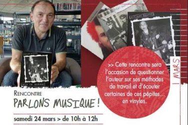 """Conférence """"Parlons musiques"""" - Sa. 23/03 . Médiathèque Cavaillon image"""