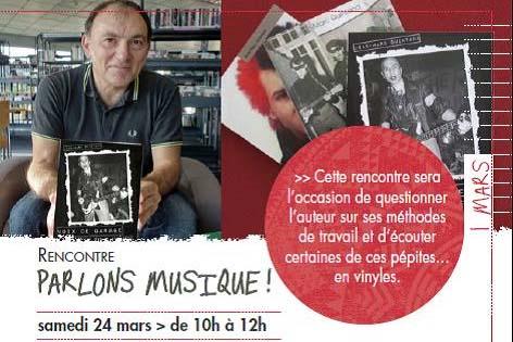 Conférence «Parlons musiques» – Sa. 23/03 . Médiathèque Cavaillon image