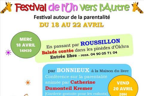 Festival «L'un vers l'autre» du 18 au 22 avril image