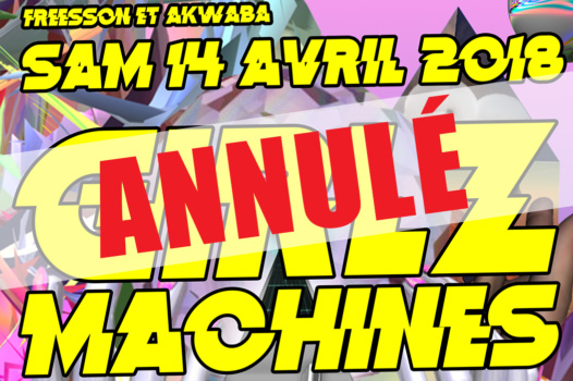 ANNULE ! Girlz Machines – Sam. 14/04 à Akwaba image