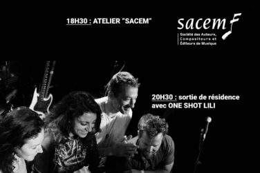 Rencontre SACEM + One shot Lili image