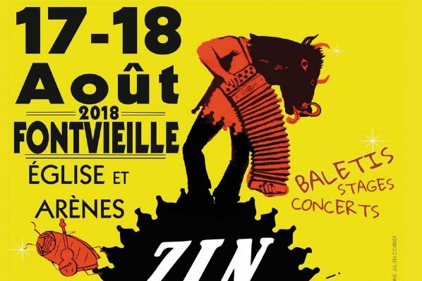 ZinZan Festival #11 – 17 et 18 août à Fontvieille image