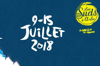 Festival Les Suds à Arles - du 9 au 15 juillet image
