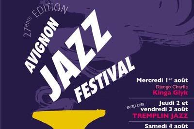 Tremplin Jazz Avignon #27. Du 1er au 5 août image
