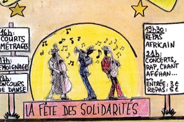 Les jeunes réfugiés du Vaucluse organisent… . Sam. 8/09 à Avignon image