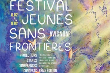 Festival Jeunes Sans Frontière . Du 6 au 9 Fév. 2020 - Avignon image