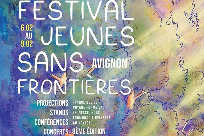 Festival Jeunes Sans Frontière . Du 6 au 9 Fév. 2020 – Avignon image