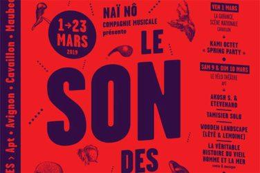 Festival LE SON DES PEUPLES #1 - Du 1er au 23 mars en Vaucluse image