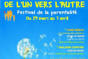 Festival L'un vers l'autre - Du 29 mars > 7 avril . Bonnieux - Roussillon - Goult image