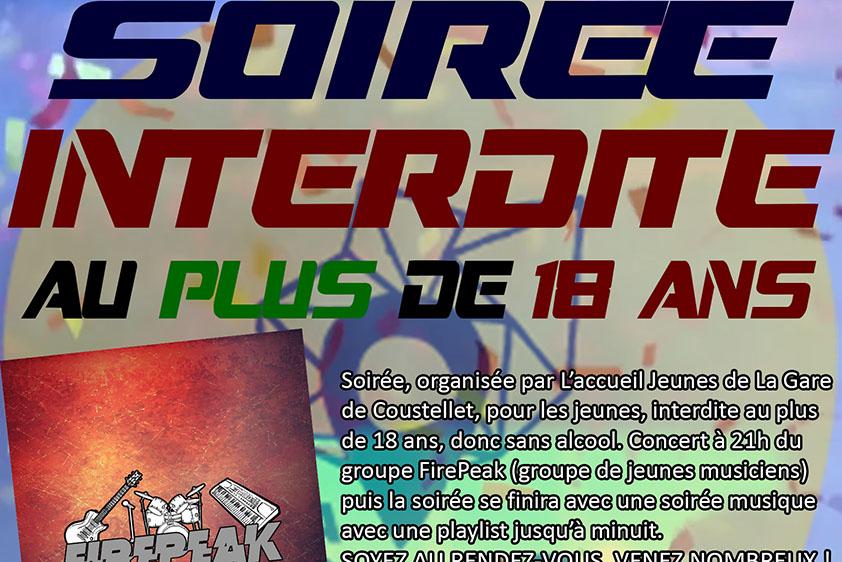 SOIRéE INTERDITE AUX + DE 18 ANS image