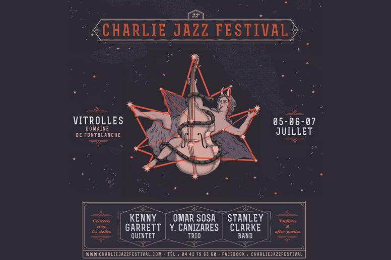 Charlie Jazz Festival . Du 5 > 7/07 . Vitrolles image