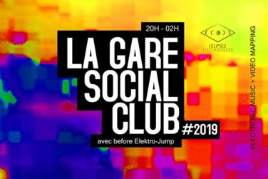 LA GARE SOCIAL CLUB XL : VOLTAIRE, Will Row, TibO8,... image