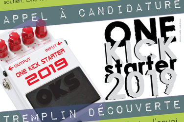 Candidatez pour One Kick Starter 2019! image