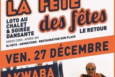 La Fête des fêtes . 27/12 à Akwaba - Chateauneuf de Gadagne image