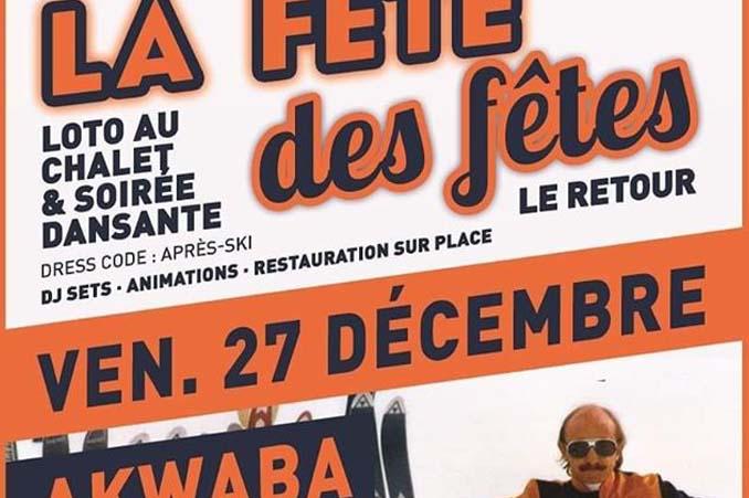 La Fête des fêtes . 27/12 à Akwaba – Chateauneuf de Gadagne image
