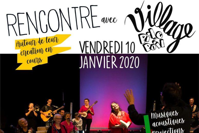 Rencontre : nouvelle création Village Pile Poil – Ven. 10/01 au Village / Cavaillon image