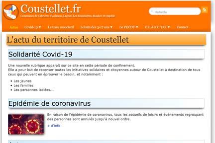 Site ressource : coustellet.fr image