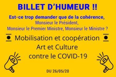 ! BILLET D'HUMEUR ! image