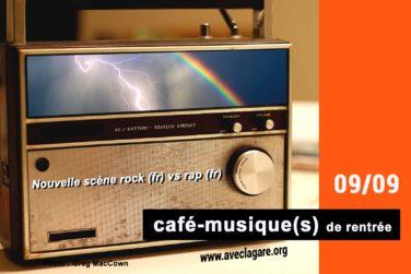 Café-musique(s) de rentrée ! image