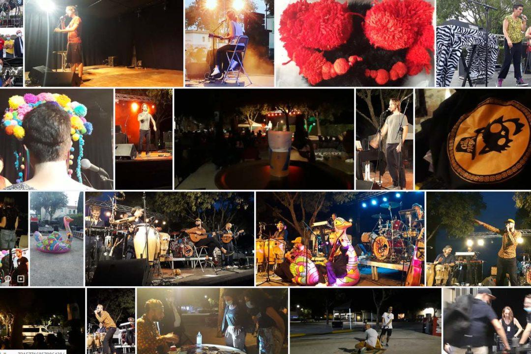Retour en images : concerts plein air . 18 & 19 Sept. - Place du marché / Coustellet image