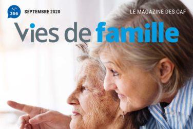 """""""Vies de Famille"""" - Le magazine de la CAF image"""