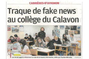 Minute presse - La Provence du 7/10/20 image