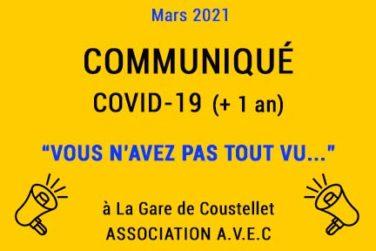 """Communiqués Covid-19 (+1 an) / """"Et vous n'avez pas tout vu..."""" . Mars 2021 image"""