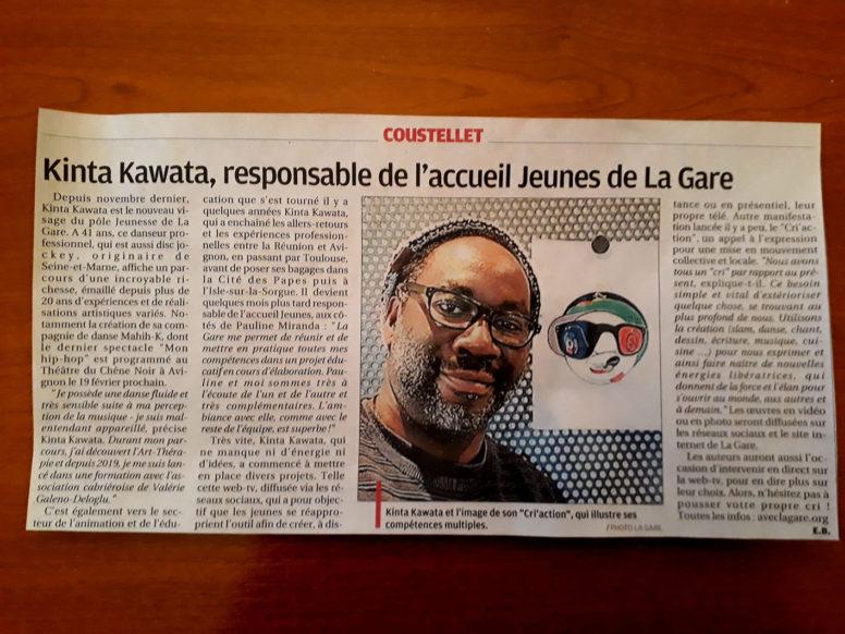 MINUTE PRESSE – La Provence – 6/01/21 image