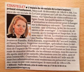 MINUTE PRESSE - La Provence - 11/12/2020 image