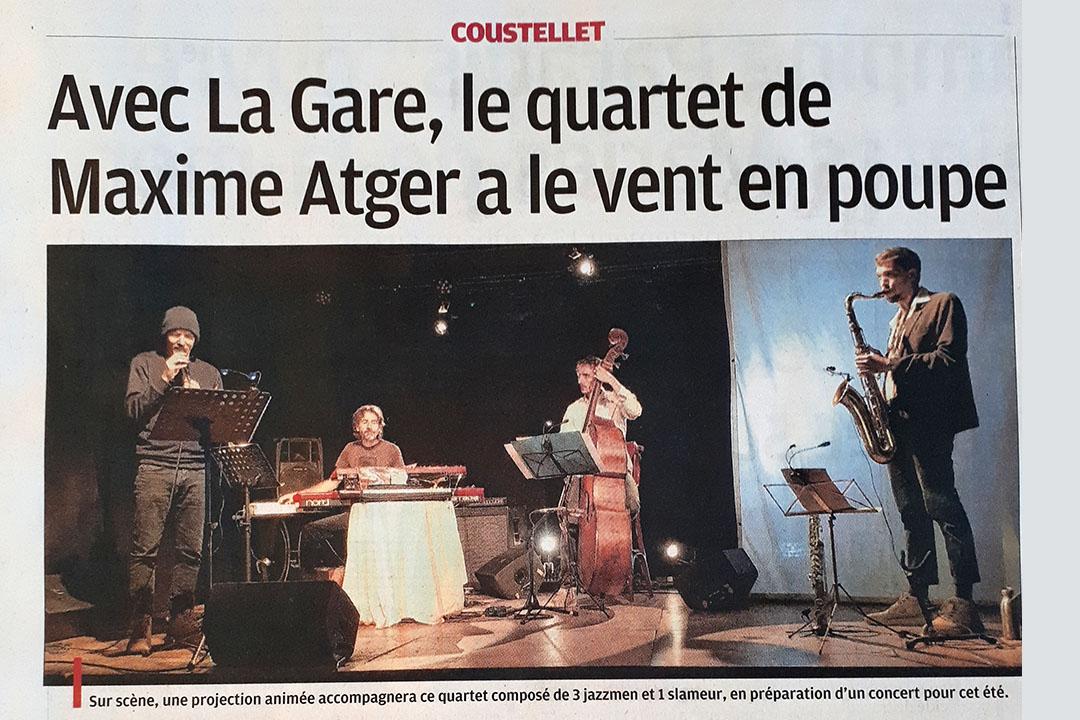 MINUTE PRESSE - La Provence 7/02/21 image