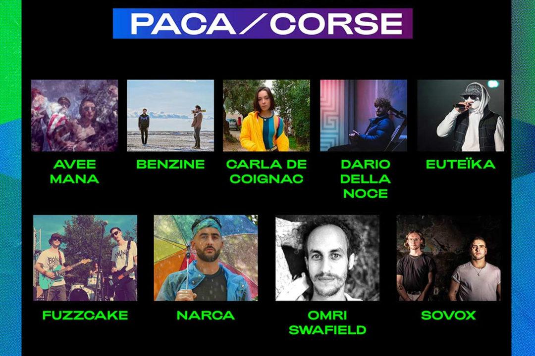 Pré-sélection PACA/Corse . Inouïs Printemps de Bourges 2021 image