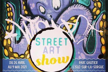 Street Art Show . Du 26/04 au 9/05 . Isle sur Sorgue image