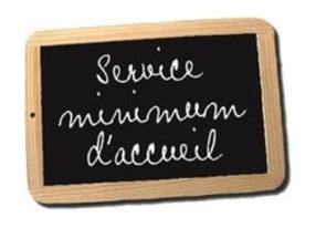 Service Minimum Accueil. Vacances de Printemps 2021 . Coustellet et alentours image