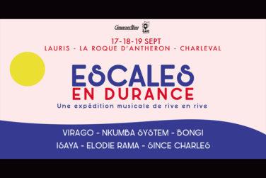 Escales en Durance #1 (1/3) . Château de Lauris image